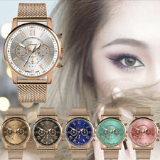 2019 Luxury Womens Watch Ladies Military Stainless Steel Band Dial Wrist Watches