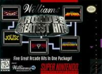 Williams Arcade's Greatest Hits Super Nintendo Game SNES Used