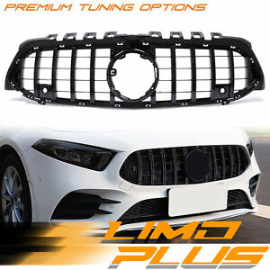GTR Style Front Grille Grill For Mercedes Benz A Class W177 A200 A250 A45 AMG