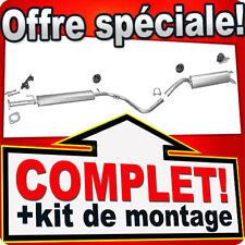Echappement FIAT STILO 1.6 77 KW 105 CH HAYON 2005-2006 Silencieux B16