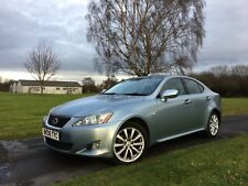 2008 LEXUS IS 220D SE 2.2 DIESEL LEATHER HEATED AND COOLED SEATS