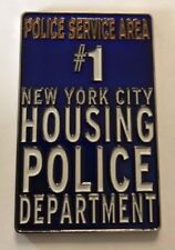 NYPD Police Department City Of New York Housing PSA #1 Street Sign Coin