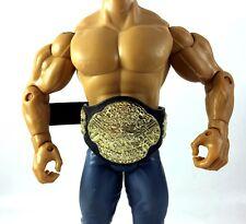 ECW World Heavyweight Championship Title Belt WWE Jakks Action Figure Accessory