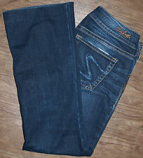 Silver Jeans Size 27x26 Womens Suki Boot Cut Low Rise Blue Jeans