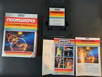 MOONSWEEPER COMPLETE (CIB)   by Imagic   Atari 2600 Inserts Manual Registratikn