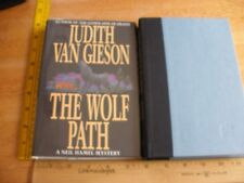 The Wolf Path by Judith Van Gieson *Signed* Hc/Dj 1st Ed 1st Print Mint