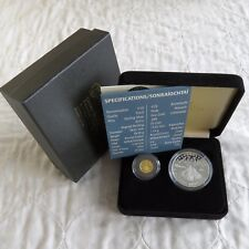 IRELAND 2008 SKELLIG MICHAEL 20 EURO GOLD PROOF & 10 EURO SILVER PROOF -complete