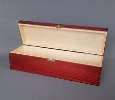 Una Bottiglia Scatola di legno di mogano semplici scatole di legno bar vino arredamento sala da pranzo
