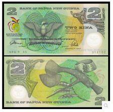 Papua New Guinea 2 Kina Commemorative (UNC) 全新 巴布亚新几内亚 2基那 塑料钞 纪念太平洋运动 1991年