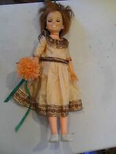 "Ideal Crissy 18""  Grow Hair Doll 1968 collectible Works FREE SHIPPING"