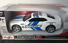 2010 Chevrolet Camaro Ss Rs Police Diecast Premiere Dc 1/24 scale New
