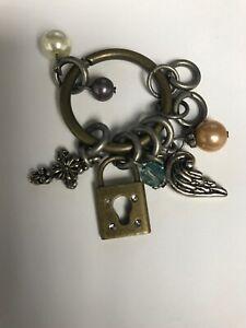 Lenny & Eva Jewelry Lock Cross Wing Mojo New Charms