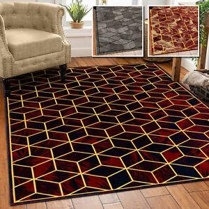 Extra Large Rugs Living Room Carpet Geometric Design Modern Bedroom Area Rug