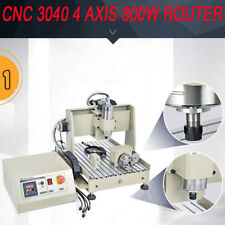 USB 4Axis 3040 800W CNC Router Machne Engraver Graviermaschine Water-cooling
