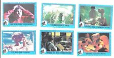 E.T. ~ The Extra-terrestrial ~ trading cards 1982 Topps ~ 6 cards