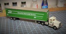 HO scale tractor trailer, Athearn, BN, 45' van