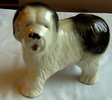 """Ceramic Figure Of An Old English Sheepdog Made By Coopercraft Height 7"""" x 9"""""""