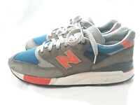 New Balance 998 Made In USA X J Crew M998JC3 Dark Military Blue Size 9.5 D