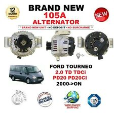 FOR FORD TOURNEO 2.0 TD TDCi PD20 PD20CI 2000-ON NEW 105A ALTERNATOR OE QUALITY