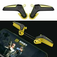 For Android IOS PUBG Mobile Phone Gamepad Game Trigger Fire Buttons Shooter L1R1