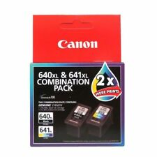 Canon 640XL & 641XL Combination Pack  PG-640 - CL-641 Made In Japan New & Sealed