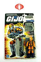 1989 GI Joe Cobra H.E.A.T. Viper Figure 100% Complete w/Uncut File Card Hasbro