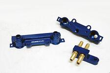 OBX Blue Aluminum Fuel Injection Rail Fit 04 05 06 07 Impreza WRX STi 2.5L EJ25