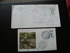 FRANCE - 2 enveloppes 1983 1984 (cy66) french