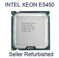 Intel Xeon E5450 CPU 3GHz LGA 775 Socket T Quad-Core Processor SLANQ 4 Cores Lot