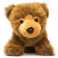 Borya the Baby Brown Grizzly Bear | 9 Inch Stuffed Animal Plush Bear