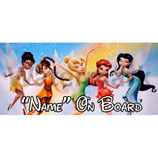 Disney Tinkerbell Personalised Baby On Board Car Sign (3)