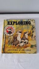 Exploring: Seven Adventures at Ash Lodge by Lucy Kincaid 1978 Board Book England