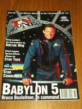 TV ZONE #69 BRITISH MONTHLY MAGAZINE BABYLON 5 STAR TREK DOCTOR WHO^