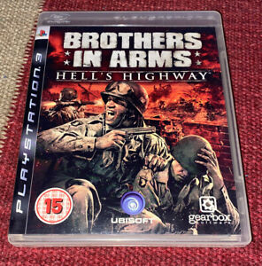 Brothers in Arms: Hell's Highway (Sony PlayStation 3 PS3, 2008) - PAL - Complete