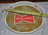 "VINTAGE OLD BUDWEISER ""KING OF BEERS"" SERVING TRAY BAR MAN CAVE"