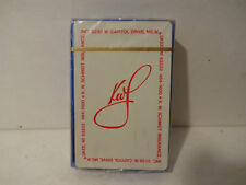 NEW SEALED DECK VTG SCHMIDT KWS INSURANCE ADVERTISING PLAYING CARDS MILWAUKEE WI