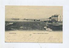 1905 Dt. Reich Photokarte Hörnum Hafen und Bahnhof Sylter Südbahn Soldatenkarte