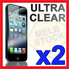 2 x Ultra Clear LCD Screen Protector Guard Film Cover for Apple iPhone 5S 5C 5