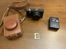 Leica D-LUX 4 10.1MP Digital Camera - Black With Case