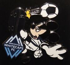 Disney Vancouver Whitecaps FC Mickey Mouse MLS Soccer Pin