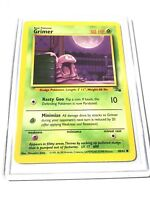 GRIMER - Fossil Set - 48/62 - Common - Pokemon Card - Unlimited Edition - NM