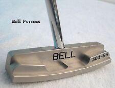 Bell Putters-Non/No Offset Golf Putter 360 RH-Jumbo Grip-CNC Milled Center Shaft