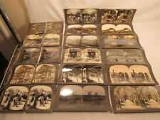 Antique Stereo View Cards Mixed Collection Keystone Company