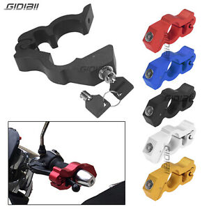 37.5mm Brake Lever Grip Lock Scooter Motorcycle ATV Handlebar Caps-Lock Aluminum