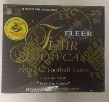 1999 Fleer Flair Showcase fútbol Fábrica Sellada Hobby Caja