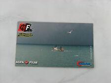 Agfa Film City color photo fiesta 2002 postale postcard used rare sea ship fish