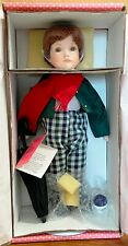 PARADISE GALLERIES PORCELAIN TIMMY DOLL NEW IN BOX
