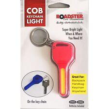 COB LED Key Light Keychain Mini Torch Outdoor Flashlight Bag Handbag Keys Red