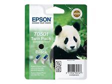 Epson T0501 Tinte schwarz 2er Pack