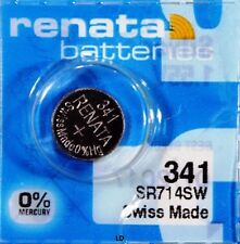 341 RENATA SR714SW 341 V341 D341 Watch Battery Free Shipping Authorized Seller